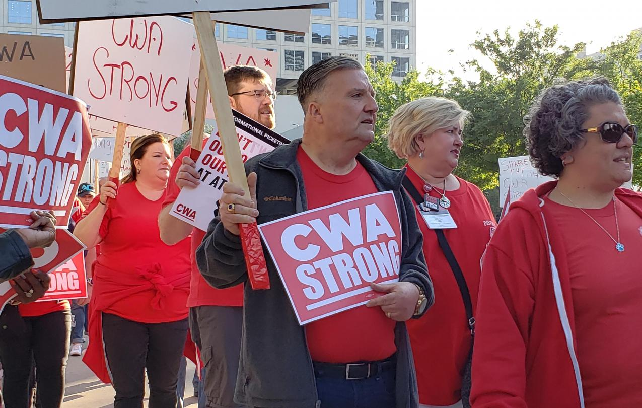 CWA Union Strong-DALLAS