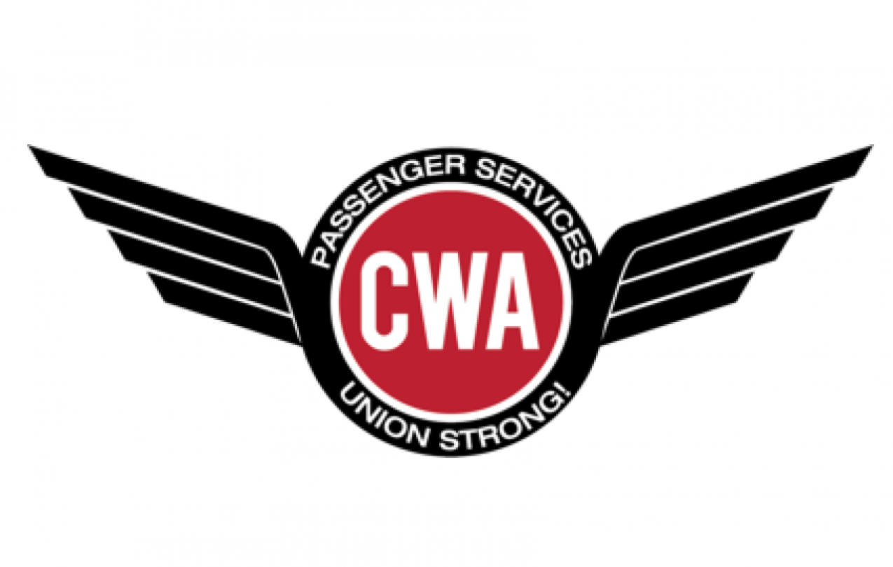 CWA Airline Agents logo