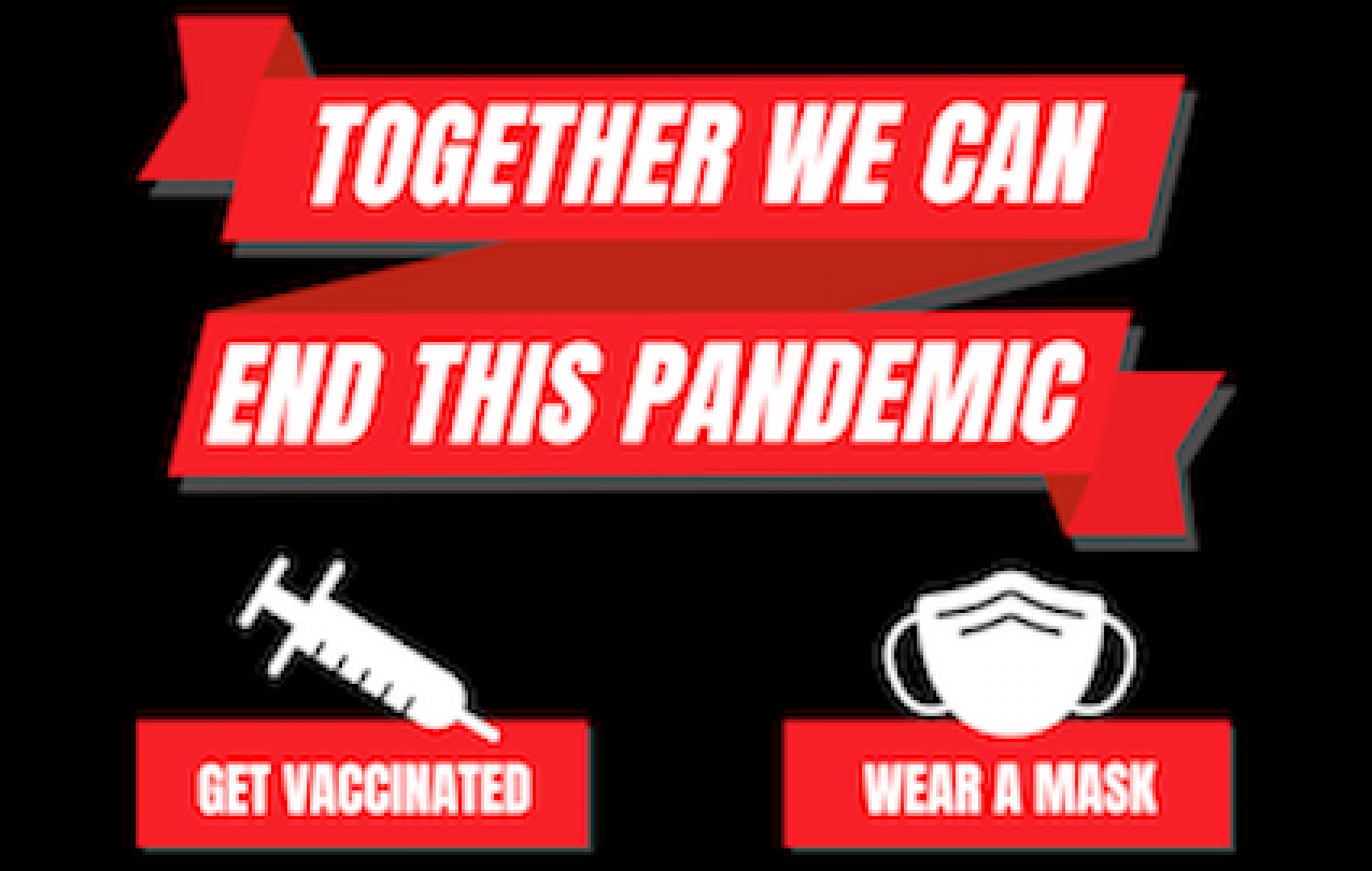 together we can end the pandemic