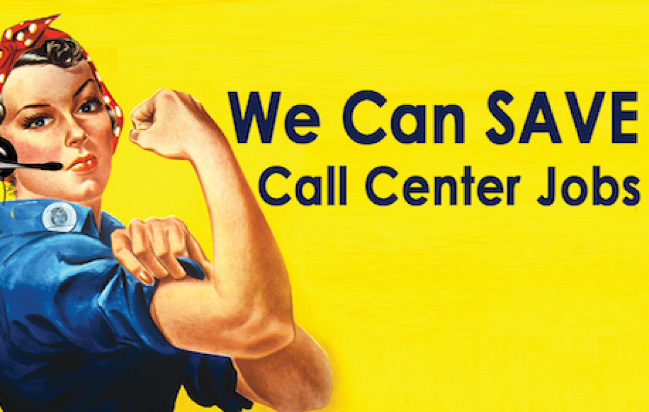 Save Call Center Jobs